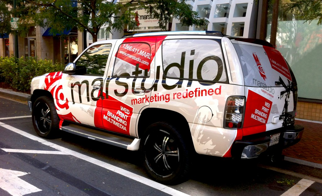 Marstudio Car Vehicle Wrap Design