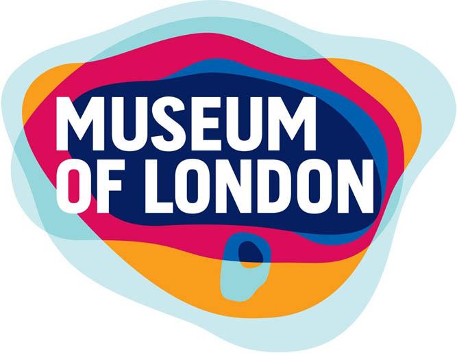 logo design, branding design for museum of london