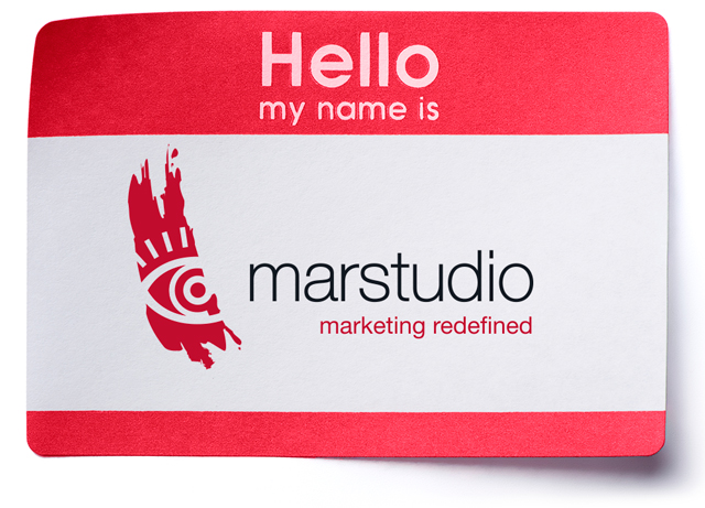 Hello My Name Is Marstudio