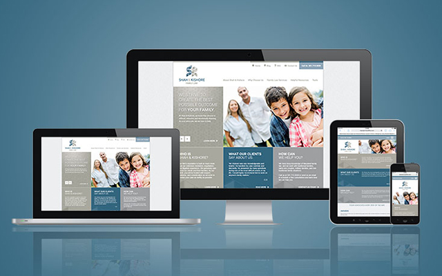 Shah and Kishore Mobile Responsive Website Design