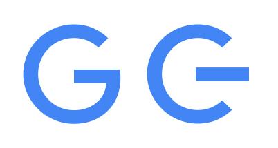 Google logo favicon like universal power symbol
