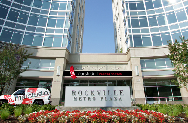Marstudio headquarters in Rockville Metro Plaza MD