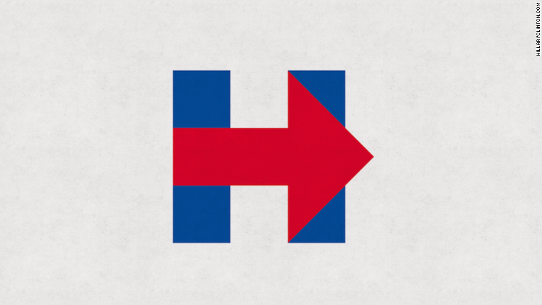 "Hillary Clinton ""H"" Logo"